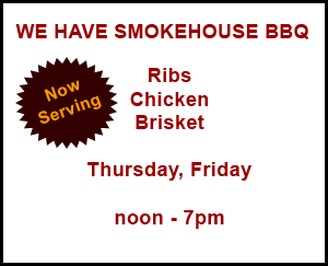 We have Smokehouse BBQ